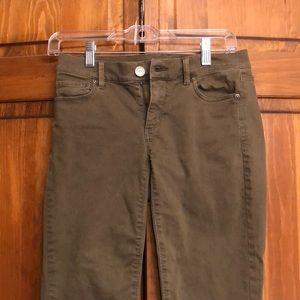 Green Loft pants
